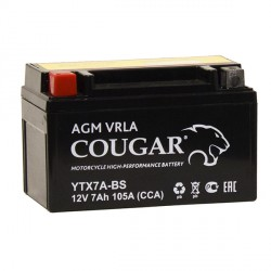 COUGAR YTX7A-BS