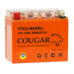 COUGAR YTX12-BS GEL