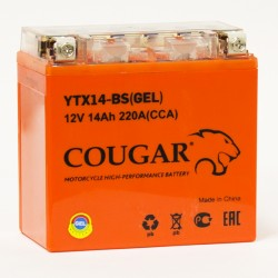 COUGAR YTX14-BS GEL